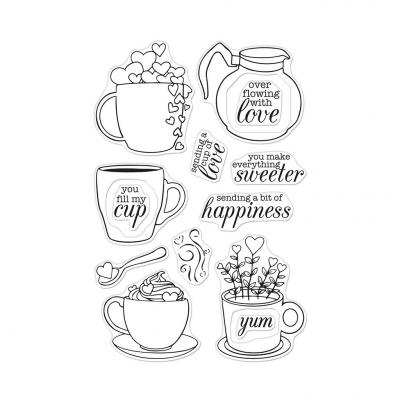 Hero Arts Clear Stamps - Cup Of Love