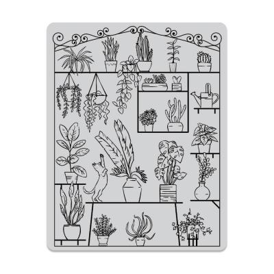 Hero Arts Cling Stamps - Peek-A-Boo Greenhouse