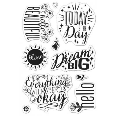 Hero Arts Clear Stamps - Affirmation Messages