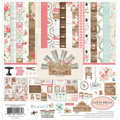 Carta Bella Farmhouse Market Designpapier - Collection Kit