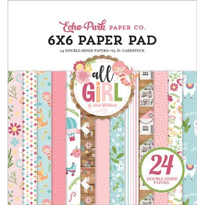 Echo Park All Girl Designpapier - Paper Pad