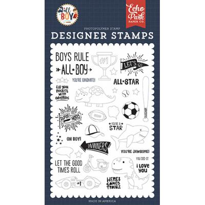 Echo Park All Boy Clear Stamps - You're A Star