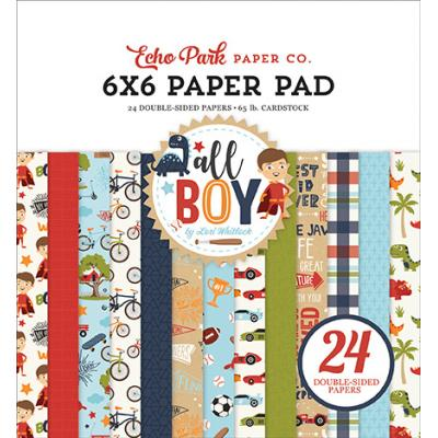 Echo Park All Boy Designpapier - Paper Pad