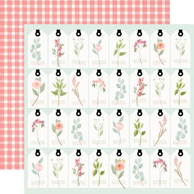 Carta Bella Farmhouse Market Designpapier - Tags