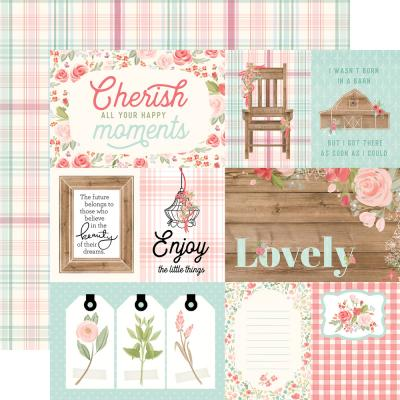 Carta Bella Farmhouse Market - 4x6 Journaling Cards