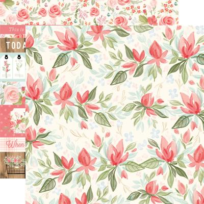 Carta Bella Farmhouse Market Designpapier - Timeless Floral