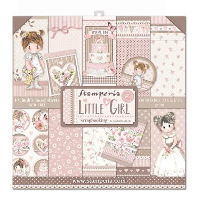 Stamperia Designpapier - Little Girl