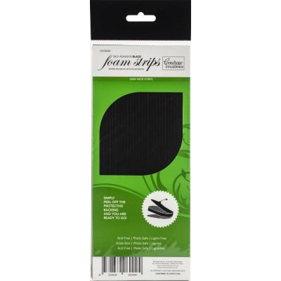 Couture Creations 3D Adhesive Foam Strips - Black