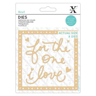 XCut Small Dies - For The One I Love