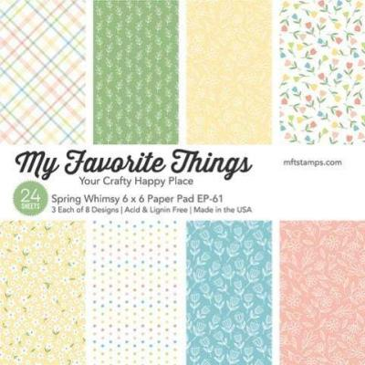 My Favorite Things Designpapier Spring Whimsy - Paper Pad