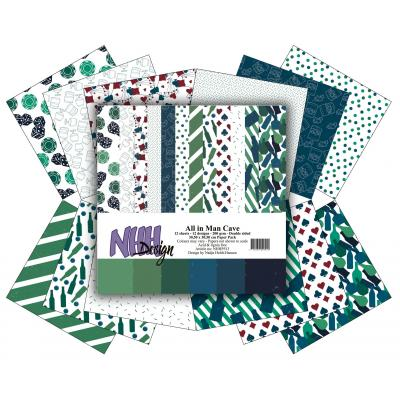NHH Design Paper Pack - Man Cave