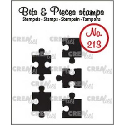 Crealies Clear Stamps Bits & Pieces - Puzzle (massiv) CLBP213