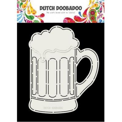 Dutch Doobadoo Card Art - Bierglas