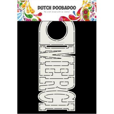 Dutch Doobadoo Card Art - Merci