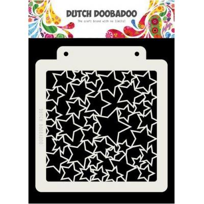 Dutch Doobadoo Dutch Mask Art Stencil - Sterne