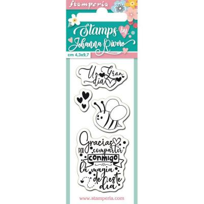 Stamperia Clear Stamps Spanisch  - Bee