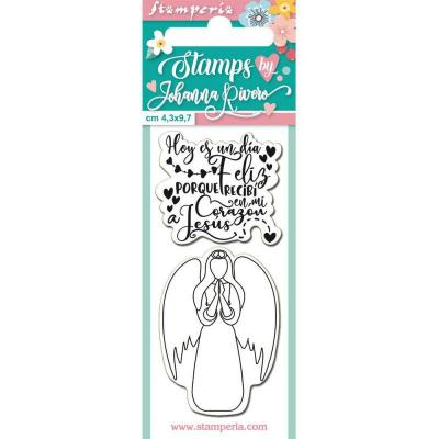 Stamperia Clear Stamps Spanisch  - Angel
