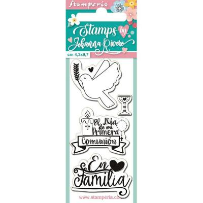 Stamperia Clear Stamps Spanisch  - Family
