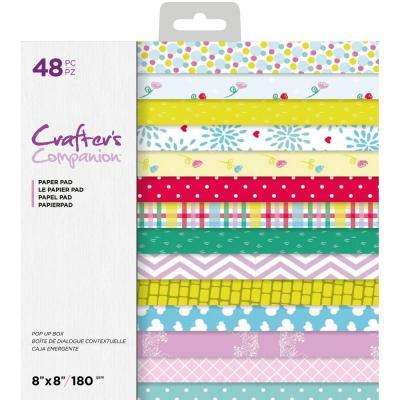 """Papermania Lot de 10 5x7/"""" Texturé Crème cartes 300gsm Avec 120gsm enveloppes"""