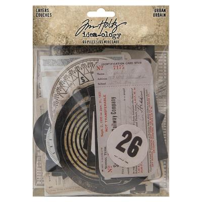 Idea-ology Tim Holtz - Urban Layers
