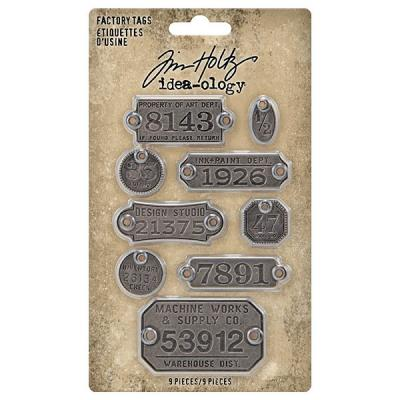 Idea-ology Tim Holtz - Factory Tags