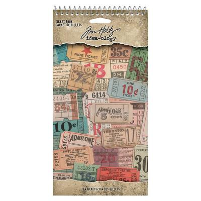 Idea-ology Tim Holtz Die Cuts - Ticket Book