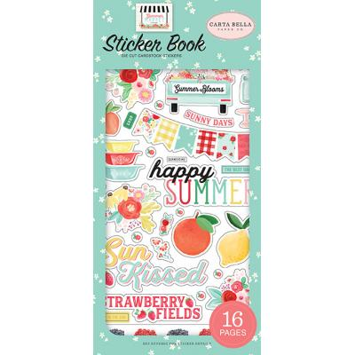 Carta Bella Summer Market - Sticker Book