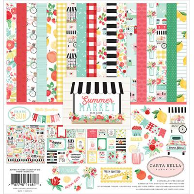 Carta Bella Summer Market Designpapier - Collection Kit