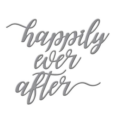 Spellbinders Sentiment Dies - Happily Ever After