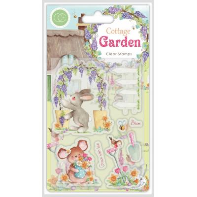 Craft Consortium Cottage Garden Clear Stamps - Green Fingers