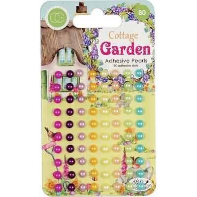 Craft Consortium Cottage Garden - Adhesive Pearls