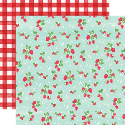 Carta Bella Summer Market Designpapier - Strawberries