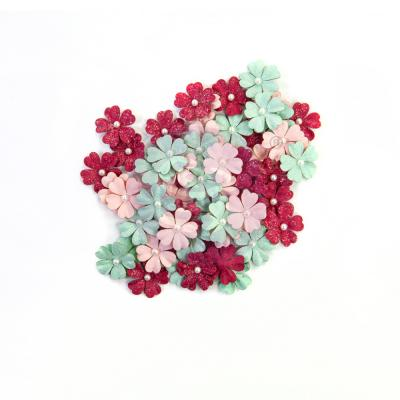 Prima Marketing Pretty Mosaic Flowers - Carnelian