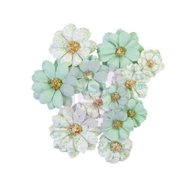 Prima Marketing Pretty Mosaic Flowers  - Jade
