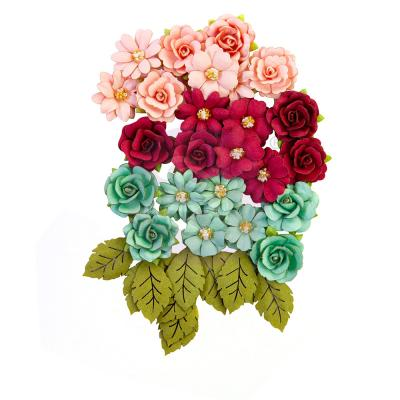 Prima Marketing Pretty Mosaic Flowers - Amazonite