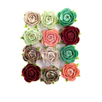 Prima Marketing Pretty Mosaic Flowers  - Peridot