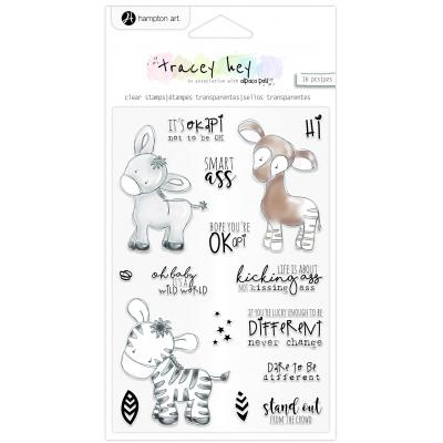 Hampton Art Clear Stamps - Stand Out
