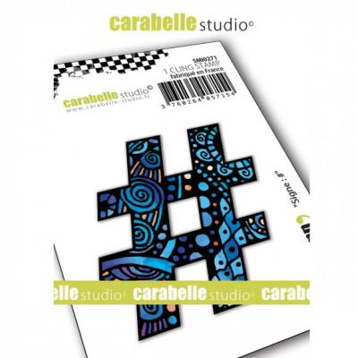 Carabelle Studio Cling Stamp - Hashtag