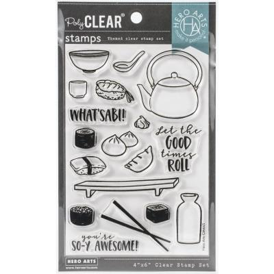 Hero Arts Clear Stamps - Soy Awesome