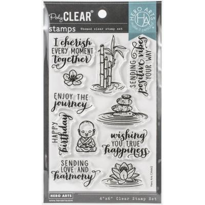 Hero Arts Clear Stamps - Tranquility