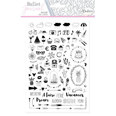 Aladine Bullet Journal Foam Stamps - Journal