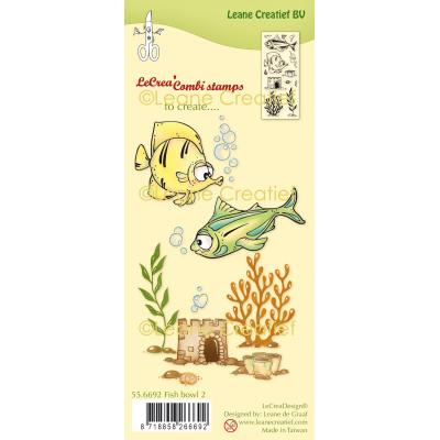 Leane Creatief Clear Stamps - Fish II