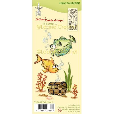 Leane Creatief Clear Stamps - Fish I