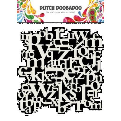 Dutch Doobadoo Mask Art Stencil - Buchstaben