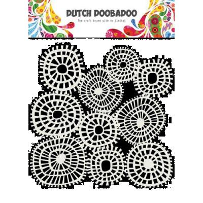 Dutch Doobadoo Mask Art Stencil - Linien Kreise