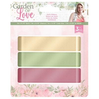 Crafter's Companion Garden of Love - Satin Ribbon