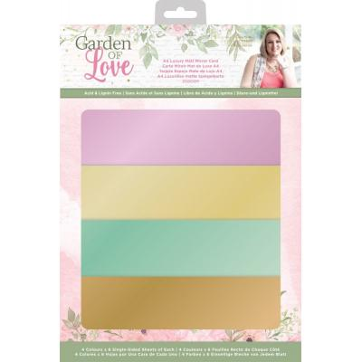 Crafter's Companion Garden of Love - Luxury Matt Mirror Card