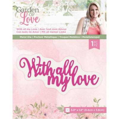 Crafter's Companion Dies Garden of Love - With All My Love