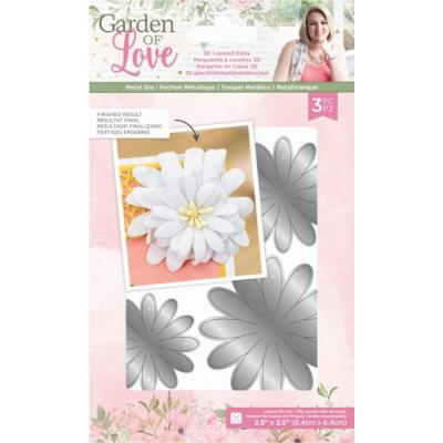 Crafter's Companion Dies Garden of Love - 3D Layered Daisy