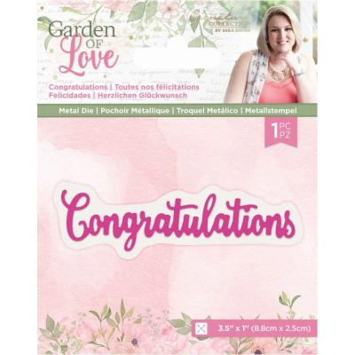 Crafter's Companion Dies Garden of Love - Congratulations